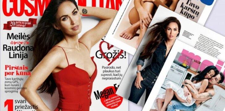 Ką rasi vasario COSMO žurnale