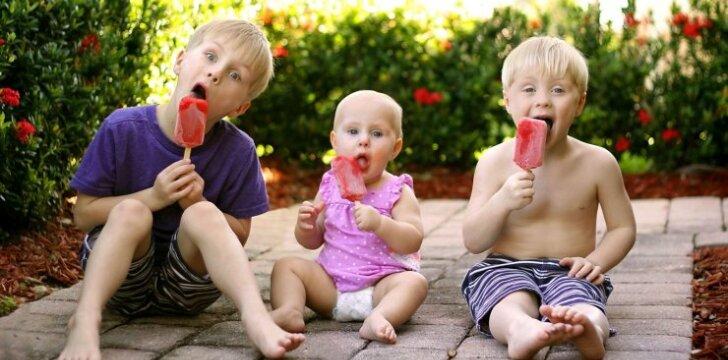 Dietologė: saldumynų vaikams negalima drausti