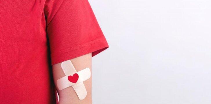 Norintys tapti kraujo donorais turi atminti kelias svarbias taisykles