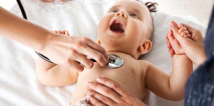 Viena dažniausių vaikiškų ligų suaktyvėja šaltuoju metų laiku