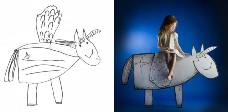 """Lietuvei fotografei unikalų projektą sukurti padėjo dukrytė <sup style=""""color: #ff0000;"""">fotogalerija</sup>"""