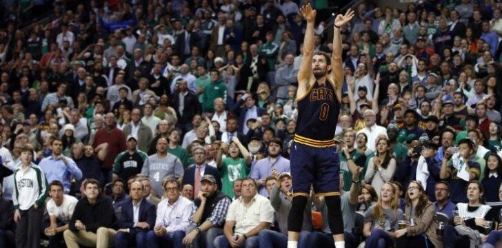 "Smūgis ""Cavaliers"" – K. Love šį sezoną nebežais"