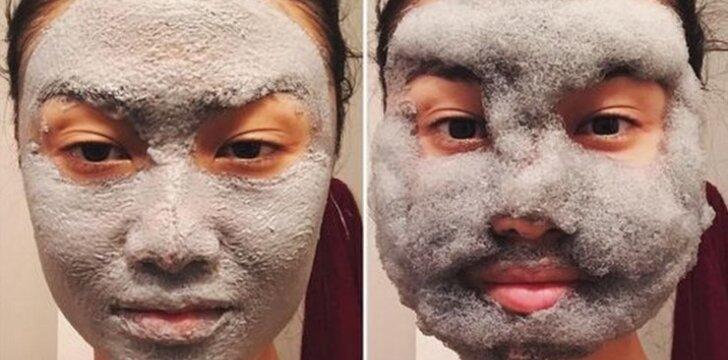 Naujovė iš Korėjos – giliai odą valanti burbuliukų kaukė