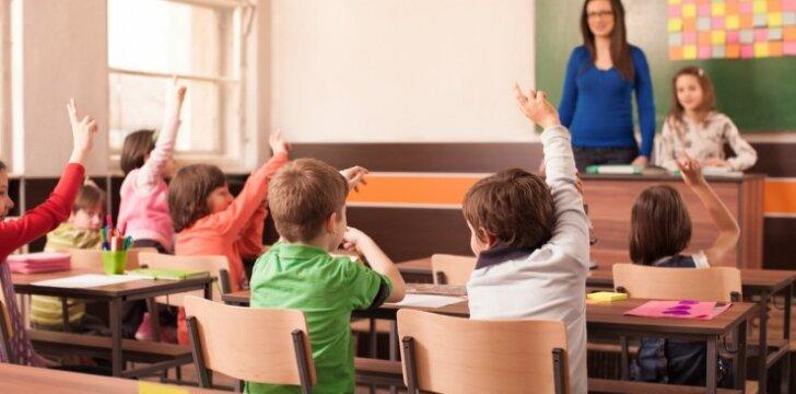 Ragina nebijoti klaidų vadovėliuose: tai neturi kelti mokiniui streso