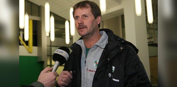 G.Krapikas: klystant 20 kartų nėra ko tikėtis laimėti prieš CSKA išvykoje