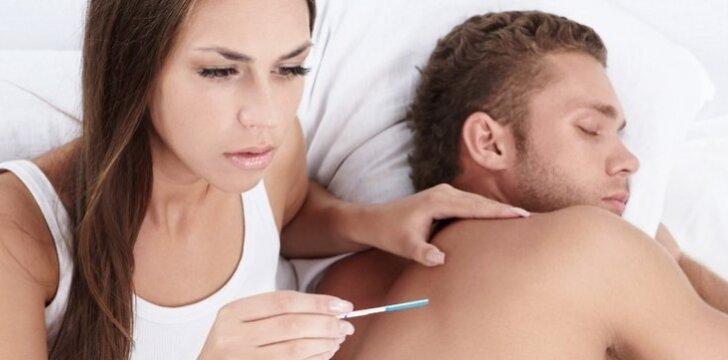 Nėštumo testas: visai nenoriu staigmenų.