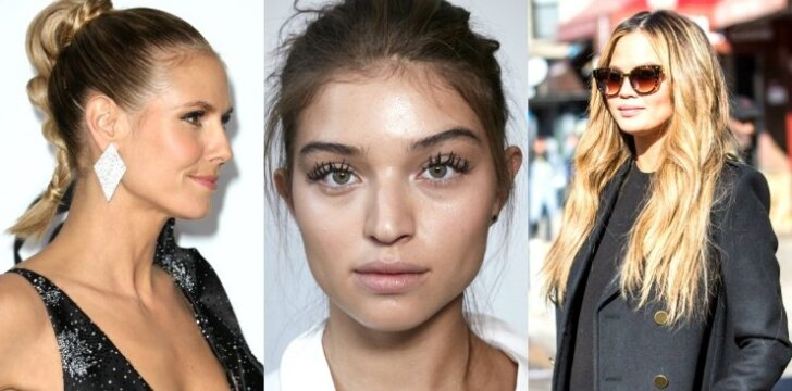 3 greitos šukuosenos, kad plaukai neatrodytų riebaluoti