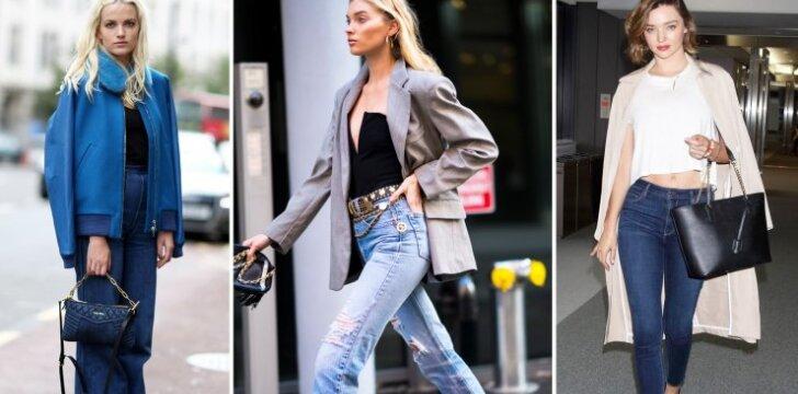 Galima rasti tobulą džinsų porą kiekvienai figūrai