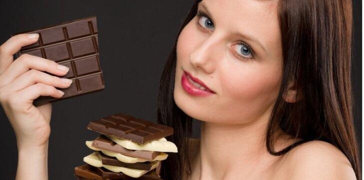 Šokoladą lietuviai dažniausiai valgo su draugais ir šeimos nariais.
