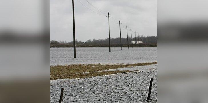 Vandens stichija šėlsta ir Lietuvoje