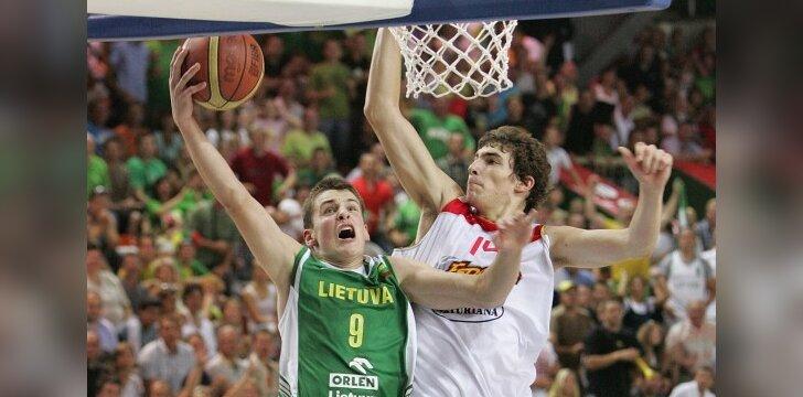 Europos U16 krepšinio čempionato finalas: Lietuva - Ispanija