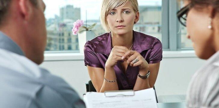 Nepiktžodžiaukite apie jūsų darbą ar darbdavį. Susitelkite į teigiamus dalykus.