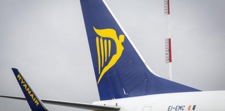 """Naujojo maršruto paskelbimo proga """"Ryanair"""" siūlo bilietų su nuolaida"""