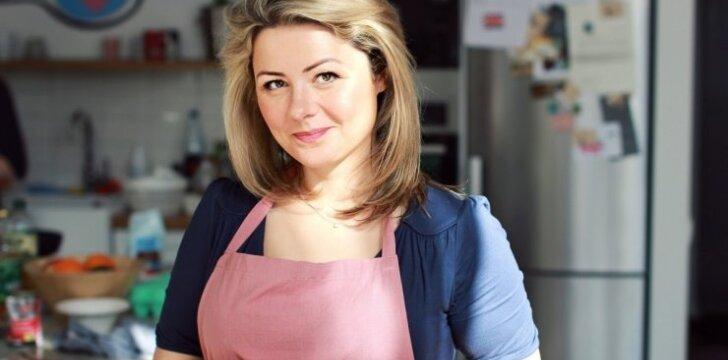Beata Nicholson atskleidžia, ką jos virtuvėje veikia vaikai