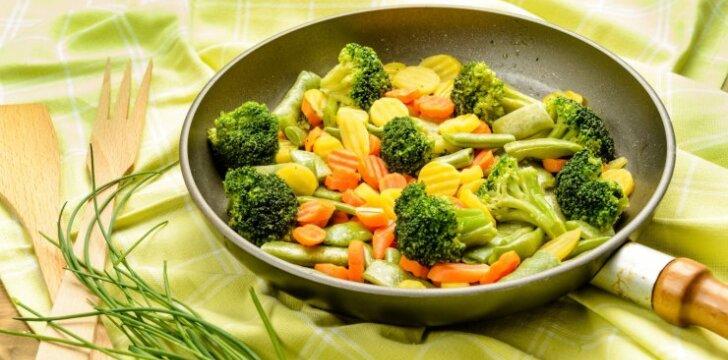 Virtos daržovės