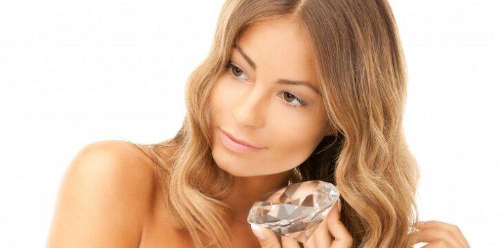 Deimantų nauda grožiui - tikra ar tik mitas