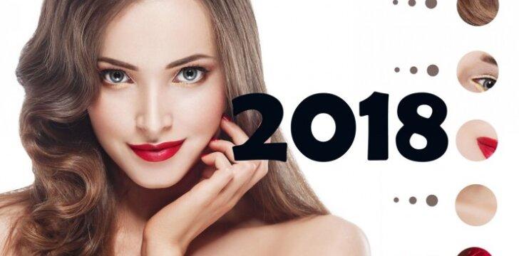 Tavo grožio kalendorius: išgražėk iki Naujųjų vakarėlio
