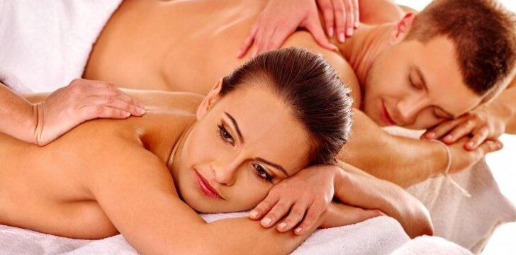 Laimėk prabangų SPA masažą DVIEMS