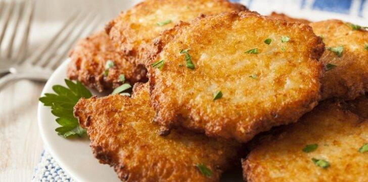 YPATINGA: bulviniai Kėdainių blynai