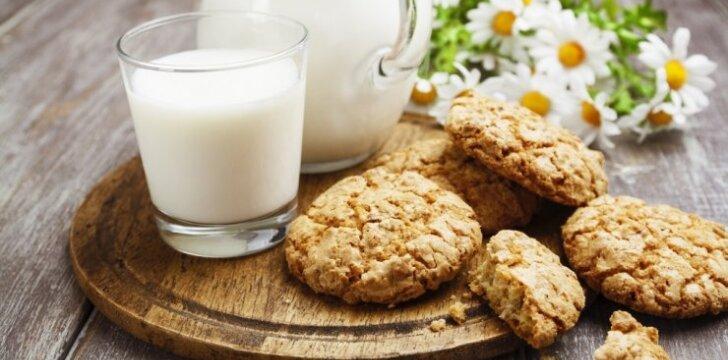 Avižinių dribsnių sausainiai