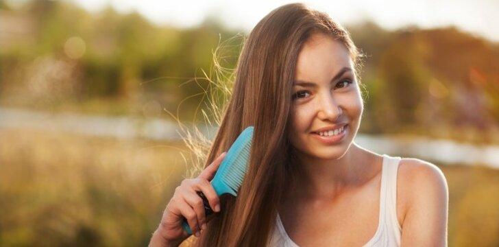 Išsirink šukas pagal plaukų tipą, jog plaukai atrodytų nuostabiai