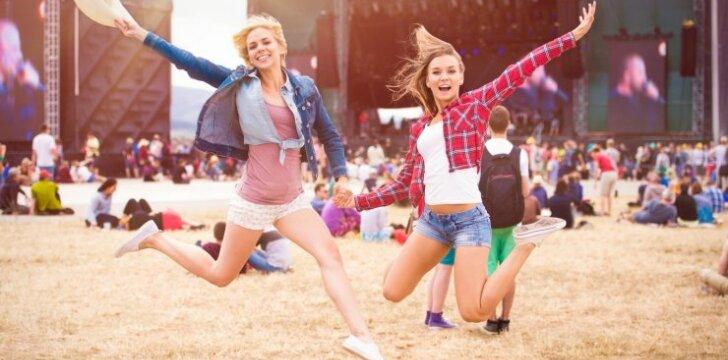 10 patarimų, kaip saugiai šėlti festivalyje