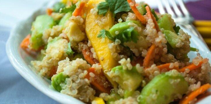 Aštrios bolivinių balandų salotos