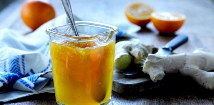 Apelsinų ir imbiero marmeladas
