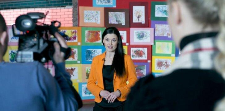 Laura Imbrasienė: nėštumas netrukdo karjerai TV