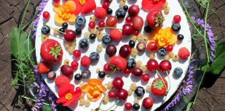 Kulinarija - taip pat menas, kur galite eksperimentuoti ir kurti grožį.