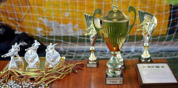 Aistros futbole – dėl KAFF taurės
