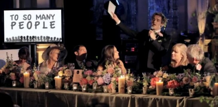 Įspūdinga JAUNIKIO vestuvių kalba (8,6 mln. peržiūrų!)