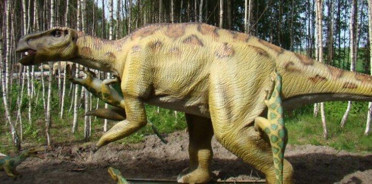 """Lietuviškasis dinozaurų parkas tikisi sulaukti ne tik vaikų dėmesio <sup><span style=""""color: #ff0000;"""">Pamatyk nuotraukas</span></sup>"""