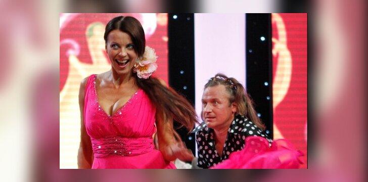 Seksuali I.Valinskienės suknelė Ž.Žvagulio nesutrikdė (VIDEO)