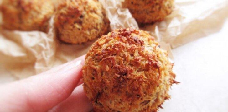 Kokosų sausainiai be gliuteno
