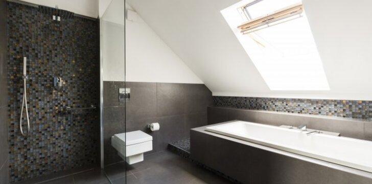 Grindų įrengimas vonioje: kokia danga tinkamiausia?