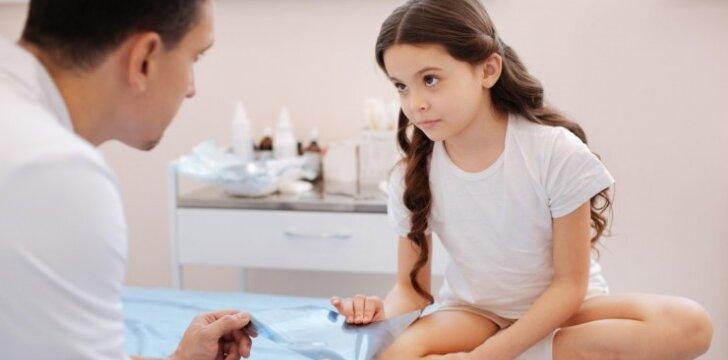 Specialus testas atskleis, ar vaikui reikia antibiotikų