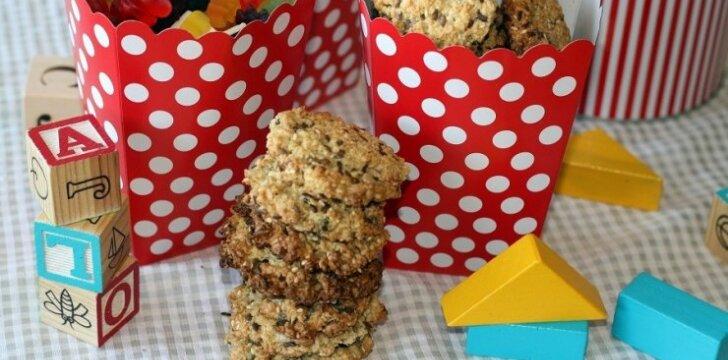 Greičiausiai pasaulyje pagaminami sveikuoliški sausainiai