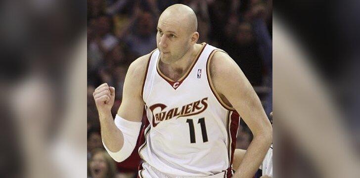 Ž.Ilgauskas peržengė 10 tūkst. NBA pelnytų taškų ribą