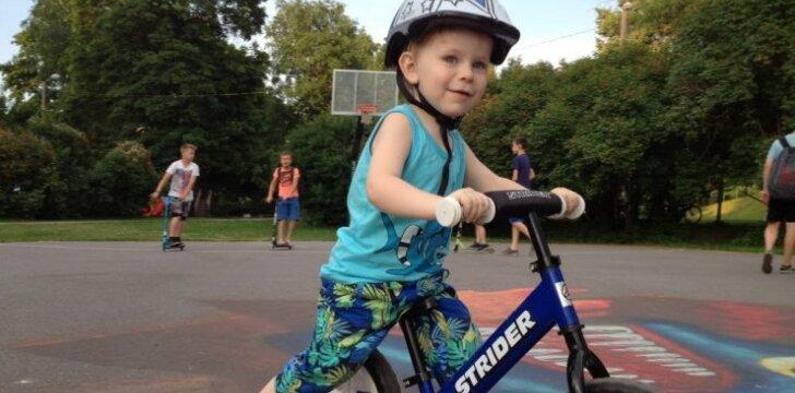 Kodėl verta rinktis balansinį dviratuką?
