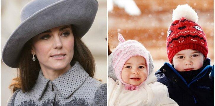 Kate Middleton gresia netrumpas išsiskyrimas su vaikais