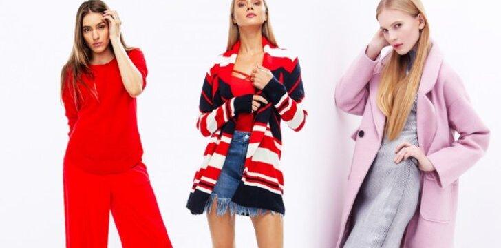 RUDENS IŠPARDAVIMAS: šiltos suknelės, striukės ir megztiniai iki 30 eurų