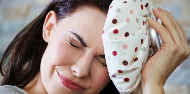Kaip migreną išgyvena vyrai ir kaip - moterys