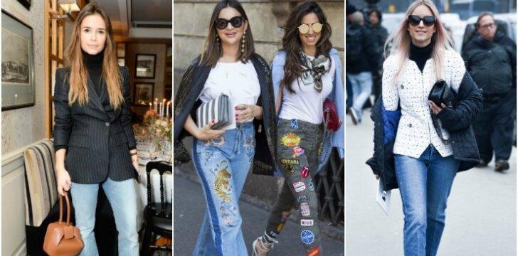 PASIDARYK PATI: 3 karščiausi 2017 m. džinsų modeliai