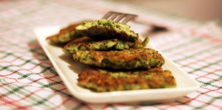 Brokolių blynai: kai ir sveika, ir skanu