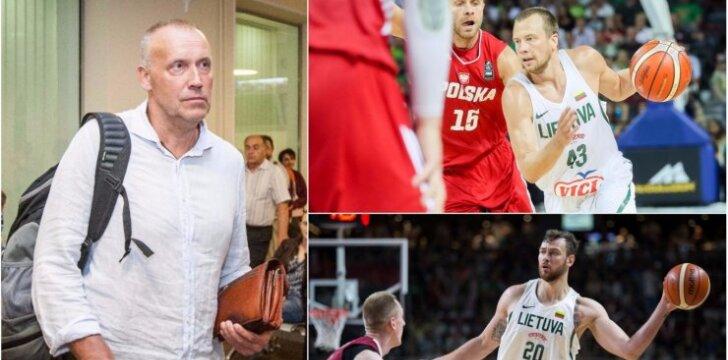 Rimas Kurtinaitis įvertino Lietuvos rinktinę