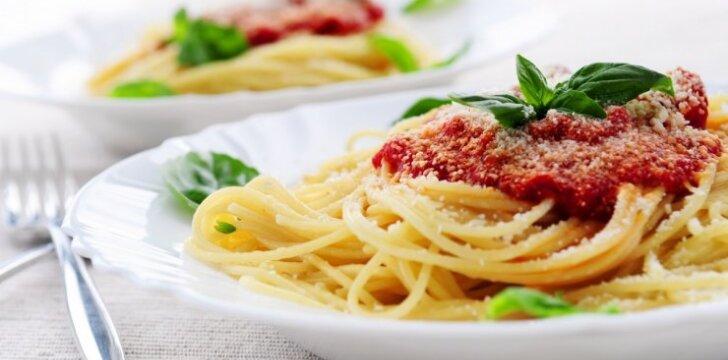 Makaronai su itališku padažu