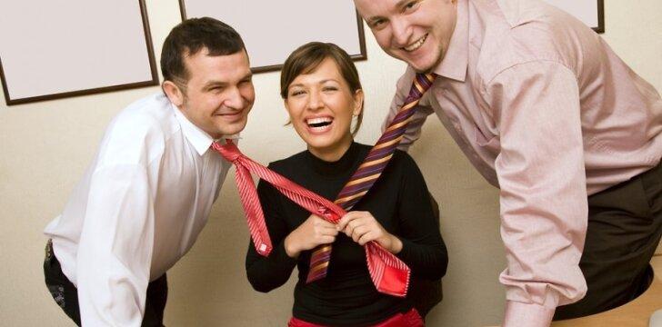Flirtas vyrams - išsigelbėjimas nuo nemalonaus darbo.