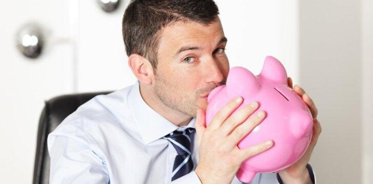 Šykštiems vyrams turbūt pinigai yra mielesnis vaizdas nei mylimos moters šypsena.