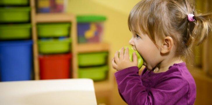 Kauno vaikų darželyje – palankesnis sveikatai meniu